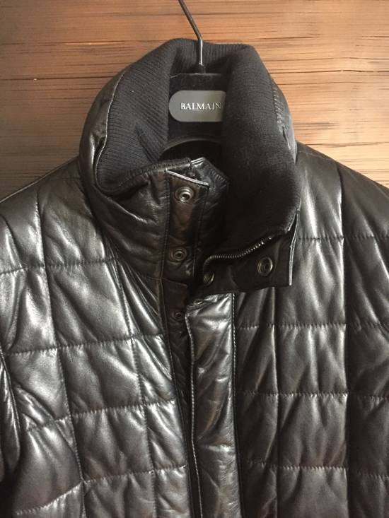 Balmain Balmain Homme Rare Leather Puffer List $6590 Size US S / EU 44-46 / 1 - 2