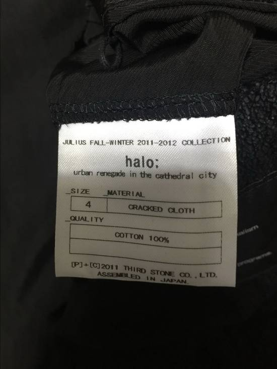 Julius 2011AW Cracked Cloth Jacket Size US XL / EU 56 / 4 - 4