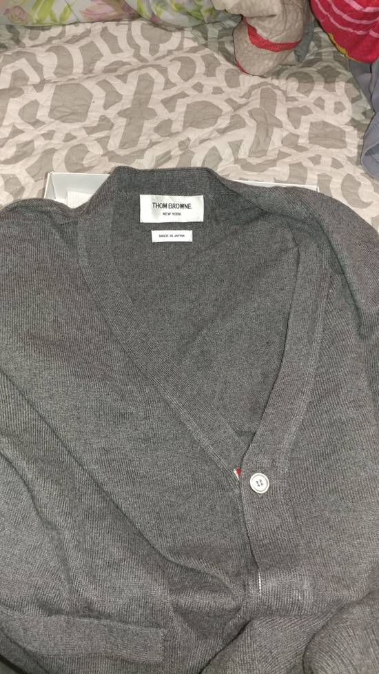 Thom Browne Thom Browne Classic 4 Stripes Cardigan Size US L / EU 52-54 / 3 - 5