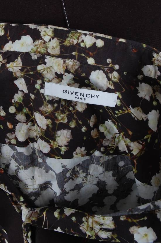 Givenchy Givenchy Black Cotton Floral Button-Down Size US M / EU 48-50 / 2 - 4