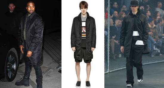 Givenchy $3200 Givenchy Long Padded Nylon Rottweiler Shark Overcoat Jacket size M (L) Size US M / EU 48-50 / 2 - 1