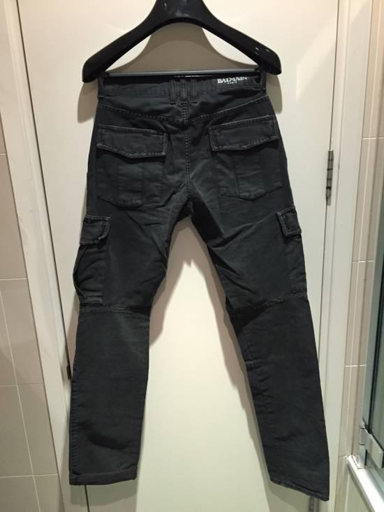 Balmain Military Biker Jeans Size US 30 / EU 46 - 4