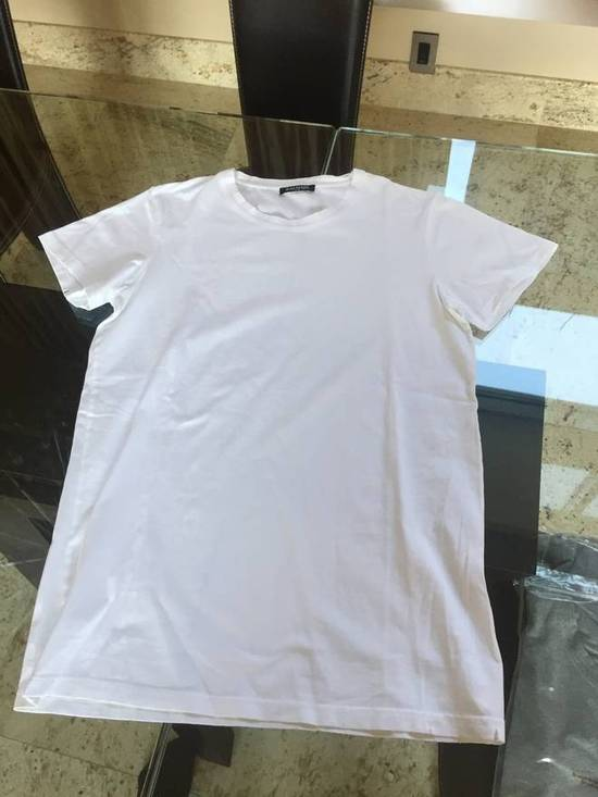 Balmain S & L SS Crew Neck Tee in White Light Distressed Size US S / EU 44-46 / 1