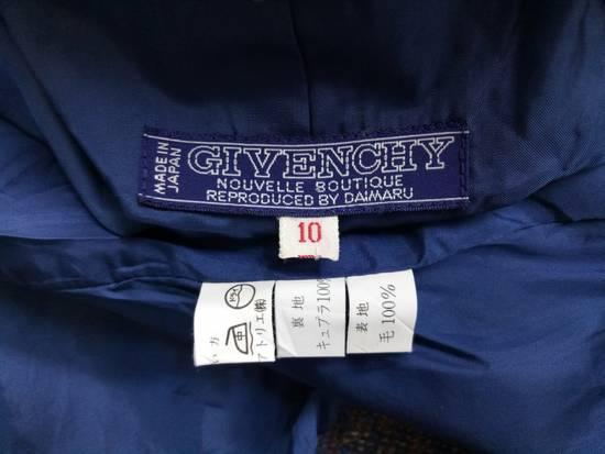 Givenchy 💥LAST DROP🔥[ÑÉÈĎ GÖÑË ŤÔĎĄŸ] Vintage 80's Givenchy Nouvelle Boutique Wool Button Jacket Coat Blazer Rare Size US M / EU 48-50 / 2 - 3
