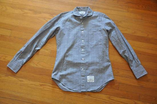 Thom Browne Cutaway Collar Shirt Size US M / EU 48-50 / 2