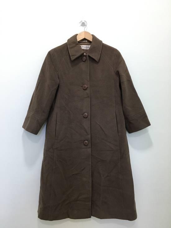Balmain Vintage Pierre Balmain Paris Wool Long Coat Jacket Camel Brown Size US S / EU 44-46 / 1 - 2