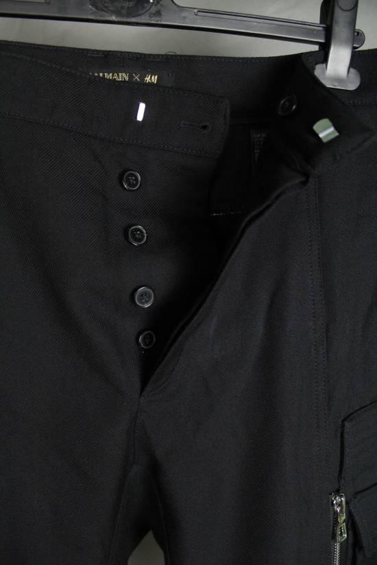 Balmain Balmain X H&M Cargo Biker Wool Pants Size EUR30 Size US 30 / EU 46 - 17
