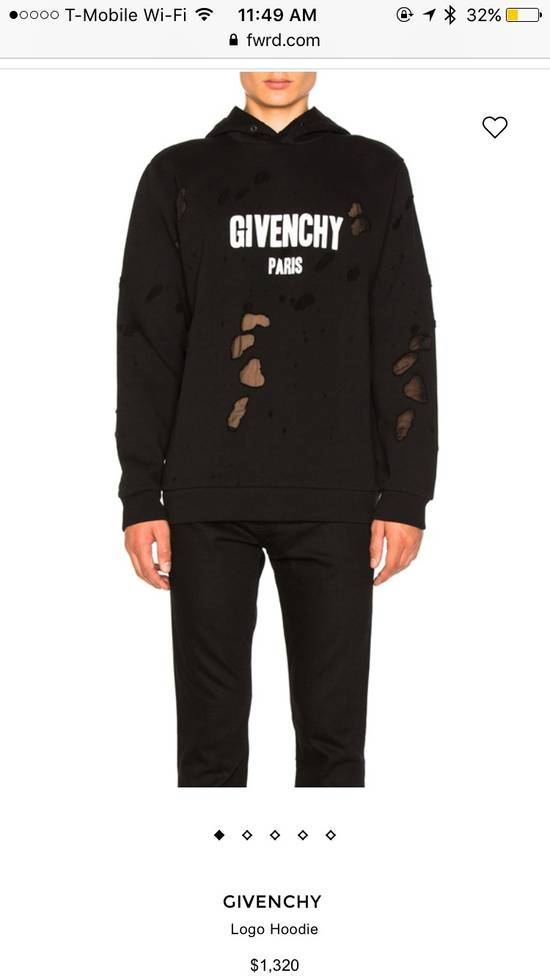 Givenchy Black Givenchy Logo Hoodie Size US XL / EU 56 / 4 - 5