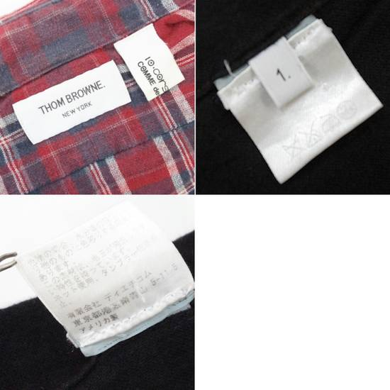 Thom Browne Long Sleeve Red × Blue × Black Checkered Pattern Shirt Button Up Size US L / EU 52-54 / 3 - 4