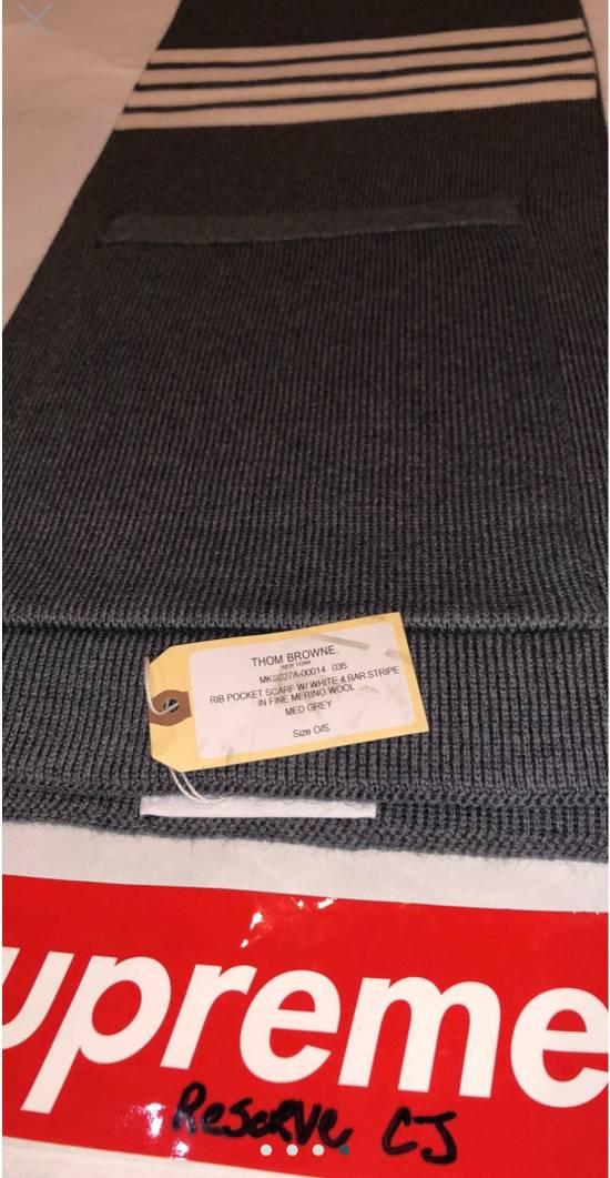 Thom Browne Grey Pocket Scarf Size ONE SIZE - 3
