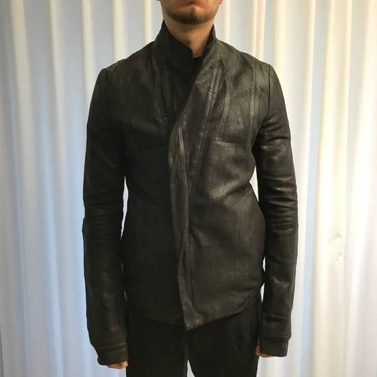 Julius black waxed jacket Size US M / EU 48-50 / 2