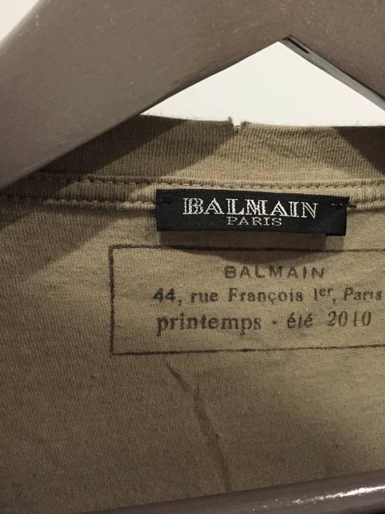 Balmain 2010S/S Distressed Tee Size US M / EU 48-50 / 2 - 2