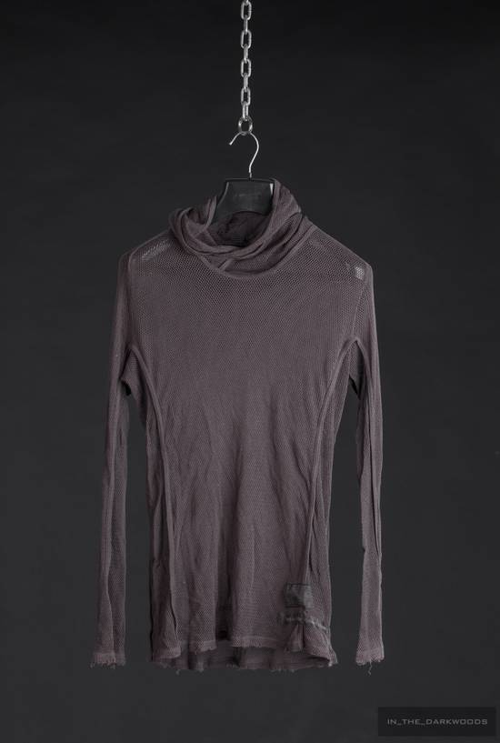 Julius = last drop = 2009SS mesh knit cotton hooded top Size US S / EU 44-46 / 1 - 1