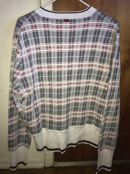Thom Browne Plaid Striped Cardigan Size 0 NEW Size US XS / EU 42 / 0 - 4