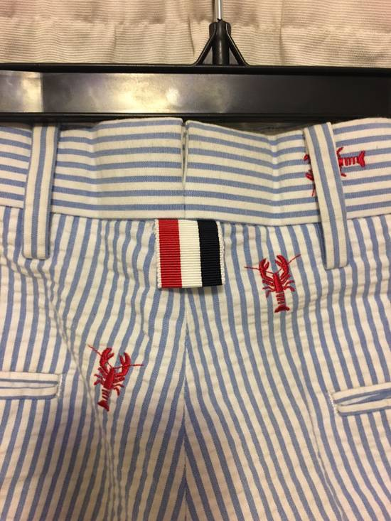 Thom Browne SS13 Lobster Embroidered Shorts Size US 28 / EU 44 - 2