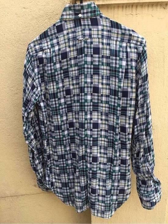 Thom Browne Patchwork Madras Shirt Size US S / EU 44-46 / 1 - 4