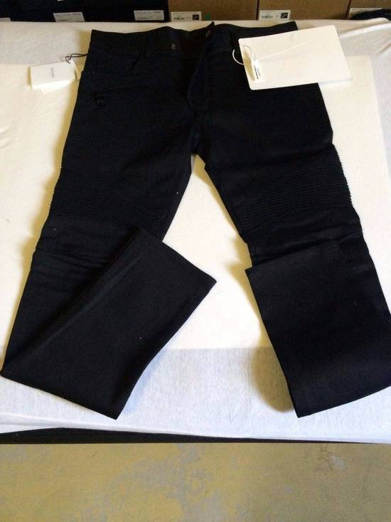 Balmain Balmain Authentic $990 Black Biker Jeans Size 36 Skinny Fit Brand New With Tags Size US 36 / EU 52