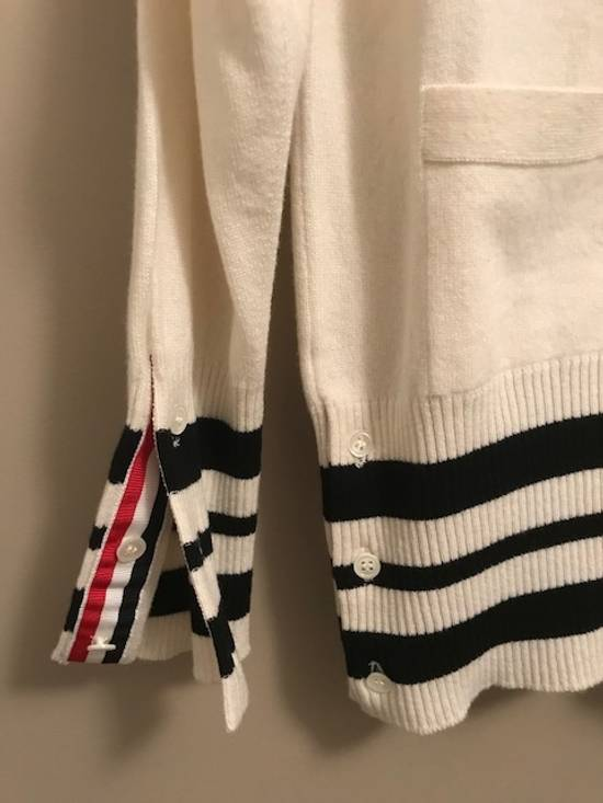 Thom Browne Cricket-Striped Cashmere Cardigan NEW Size US XL / EU 56 / 4 - 5