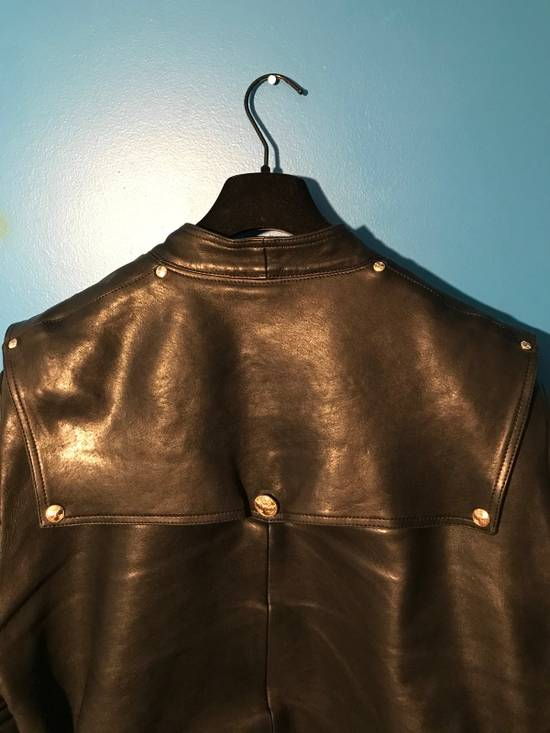 Balmain Lambskin Gold Button Detail Jacket Size US L / EU 52-54 / 3 - 11