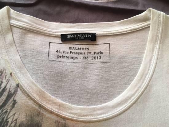 Balmain Balmain Graphic Cotton Tee Size US M / EU 48-50 / 2 - 2