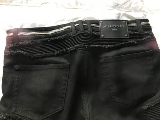 Balmain SS18 Ribbed Biker Jeans Size US 30 / EU 46 - 6