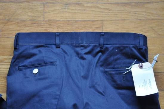 Thom Browne Navy Unstructured Chino Size US 31 - 8