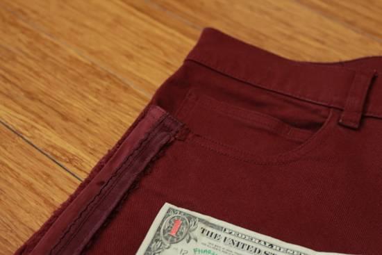 Balmain Embroidered Trim Slim Jeans Size US 32 / EU 48 - 3