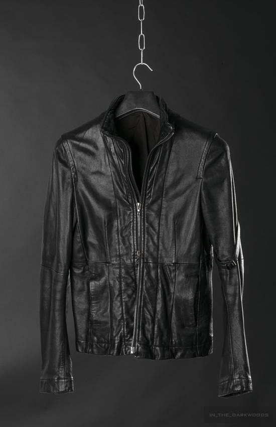 Julius = last drop = 2008SS ram leather jacket Size US M / EU 48-50 / 2 - 5