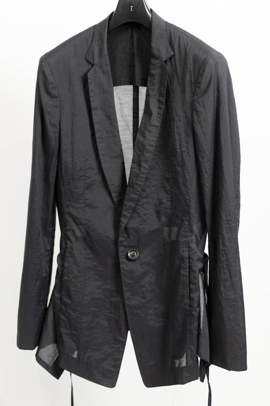 Julius SS11 Black Skirted Tech Blazer Jacket Size US M / EU 48-50 / 2