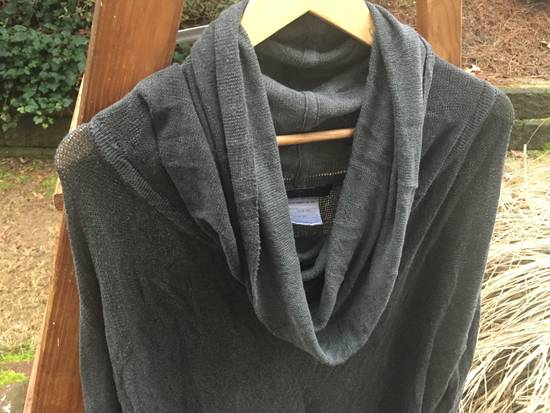 Julius SS08 Grey Yarn Cowl Neck Knit Sweater Size US M / EU 48-50 / 2 - 2