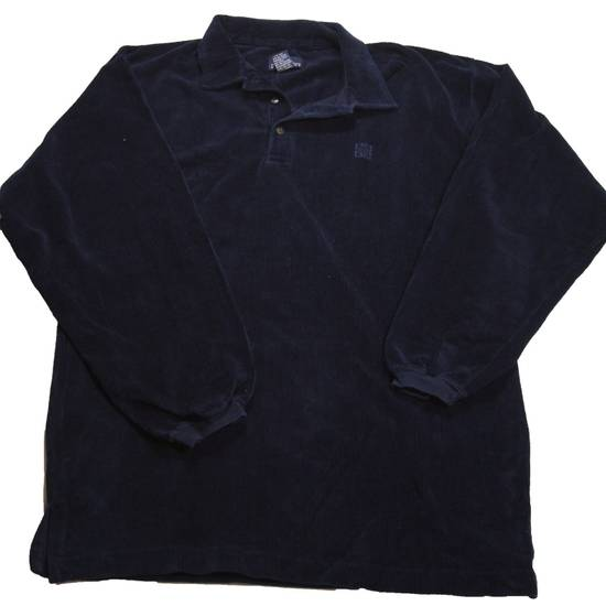 Givenchy Vintage Givenchy Activewear Corduroy Long sleeve Polo Size US L / EU 52-54 / 3 - 1