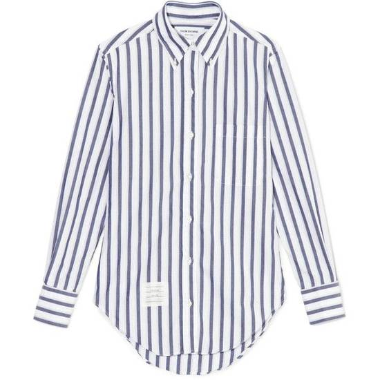 Thom Browne Classic Shirt In Thick Stripe Poplin Size US M / EU 48-50 / 2 - 1