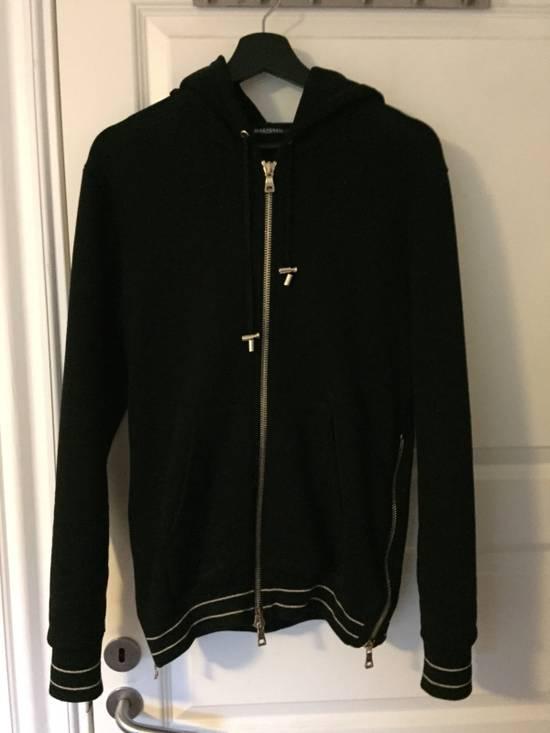 Balmain Cotton-Jersey Hoodie Size US S / EU 44-46 / 1