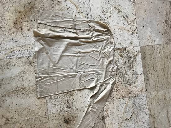 Balmain Distressed Khaki LS Tes Size US XL / EU 56 / 4 - 10