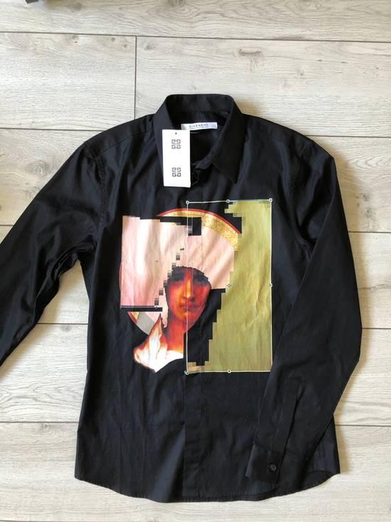 Givenchy Givenchy Black Abstract Madonna Print Shirt Size US M / EU 48-50 / 2 - 3