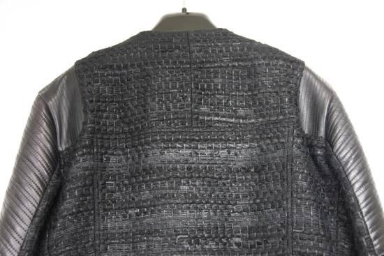 Givenchy $8k AW13 Givenchy Black Tweed & Leather Biker Jacket Size 48 Size US M / EU 48-50 / 2 - 6