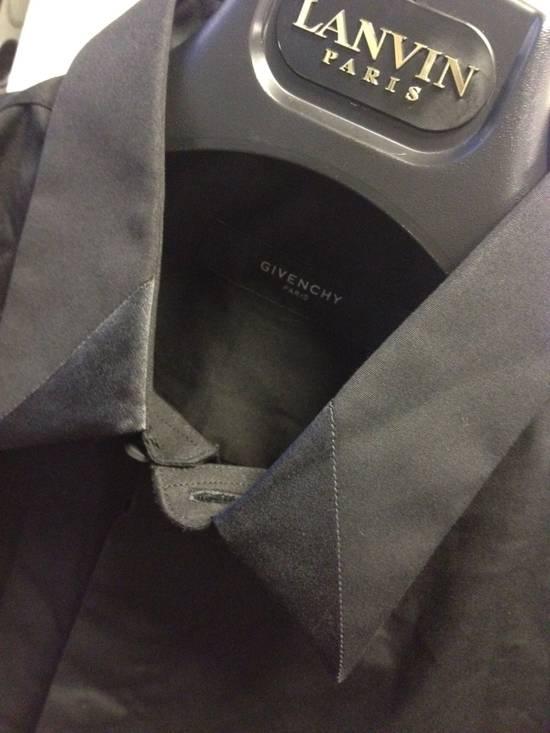 Givenchy Givenchy Runway Satin Collar Shirt Size US M / EU 48-50 / 2 - 2