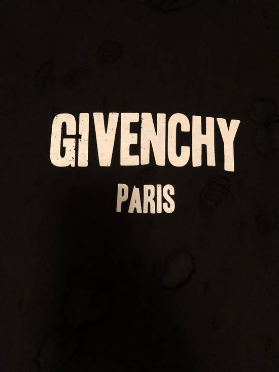 Givenchy Distressed Logo Print Hoodie Size US S / EU 44-46 / 1 - 2