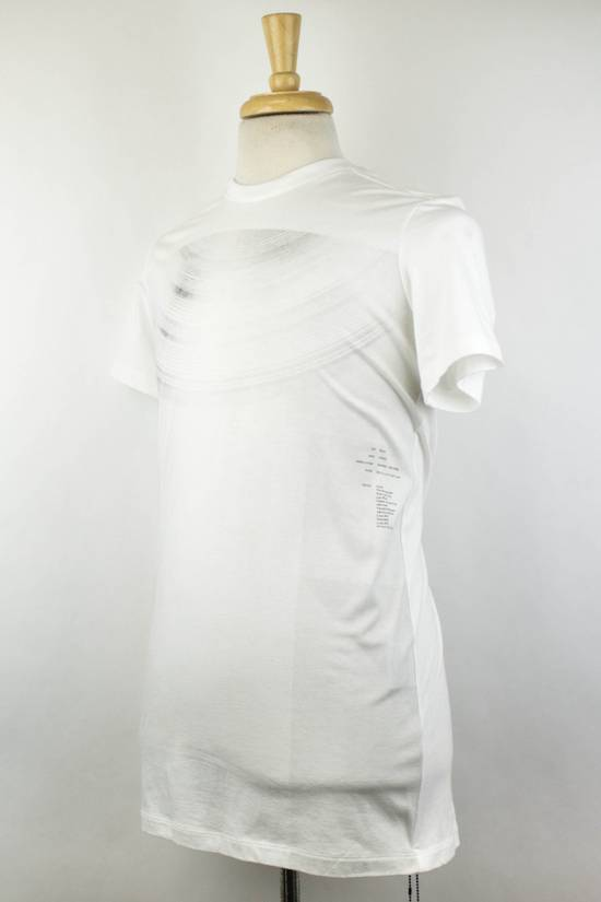 Julius 7 White Cotton Blend Short Sleeve Printed Crewneck T-Shirt 2/S Size US S / EU 44-46 / 1 - 1