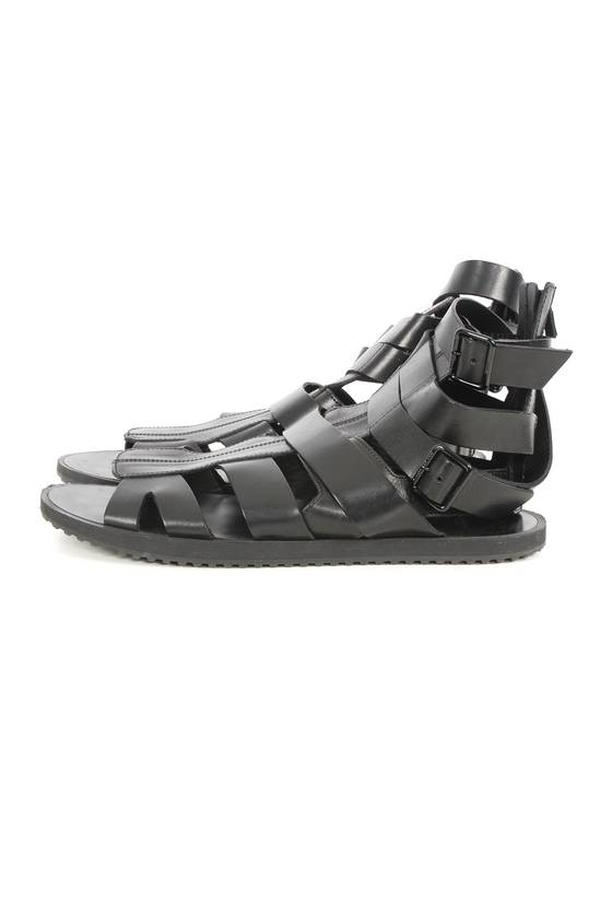 Givenchy Givenchy Black Leather Gladiator Sandals Size US 11 / EU 44 - 2