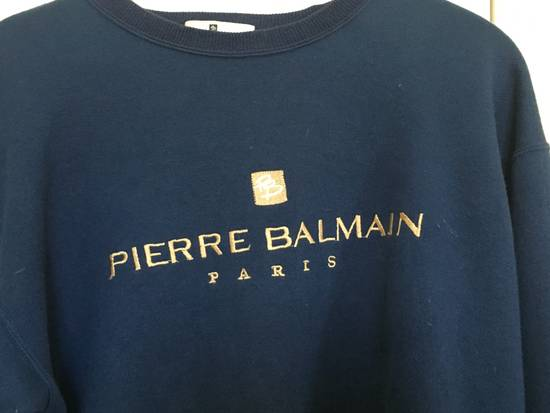 Balmain Pierre Balmain Paris Hoodie - Navy Blue Size US M / EU 48-50 / 2 - 1