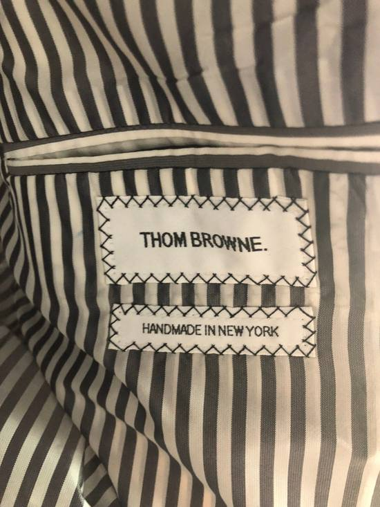 Thom Browne Bespoke Embroidered Suit Size 42L - 4