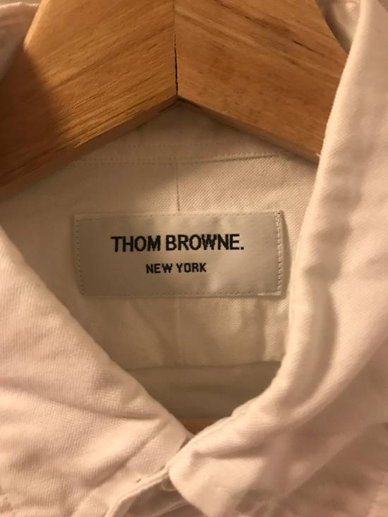 Thom Browne Grosgrain Armband Oxford Shirt Size US M / EU 48-50 / 2 - 4