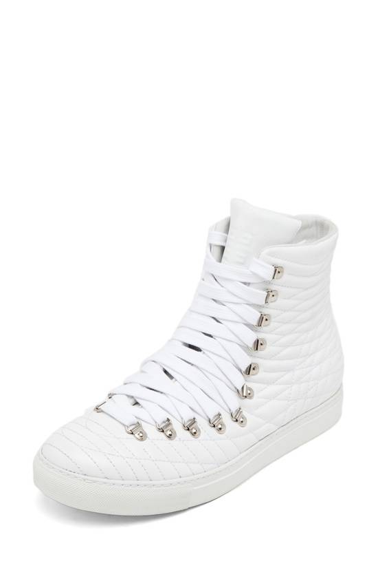 Givenchy White Multi-lace Multi-stitch Embroidered High Tops Size US 9 / EU 42