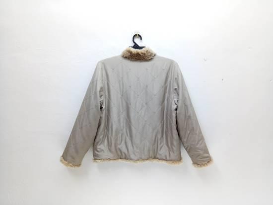 Balmain Vintage Balmain Paris Fur and Silk Reversible Jacket RARE Design Size US L / EU 52-54 / 3 - 4