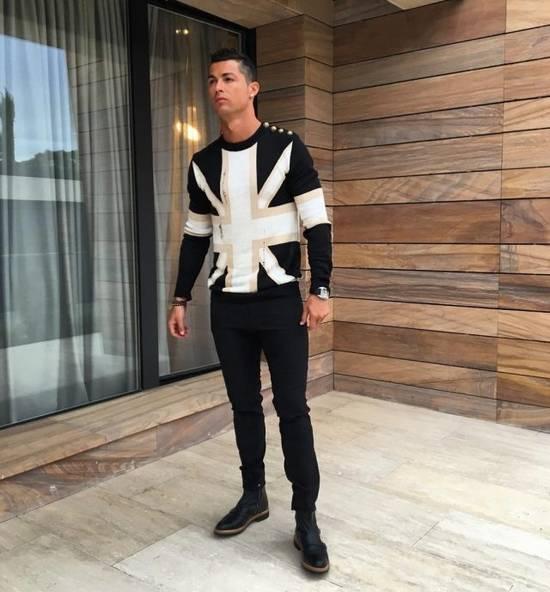 Balmain Balmain Union Jack Sweater Size US M / EU 48-50 / 2 - 2