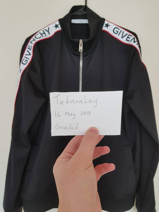 Givenchy Logo Stripe Track Jacket Size US XL / EU 56 / 4 - 5