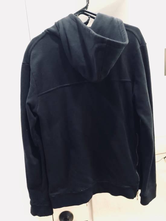 Balmain Black Zip Hoodie Size US M / EU 48-50 / 2 - 7