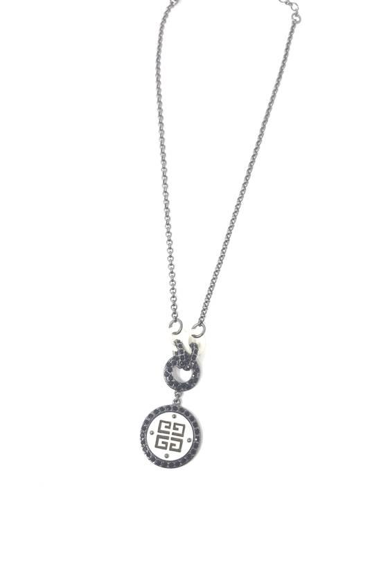 Givenchy Logo necklace doble sided Size ONE SIZE - 5