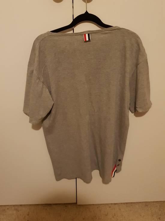 Thom Browne Grey pocket tee Size US L / EU 52-54 / 3